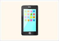 携帯電話の部品