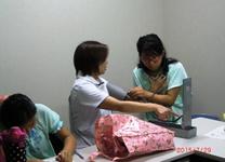 水銀血圧計の計測